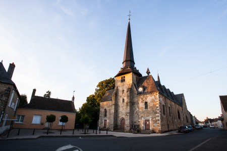 Torcé-en-Vallée Place Eglise