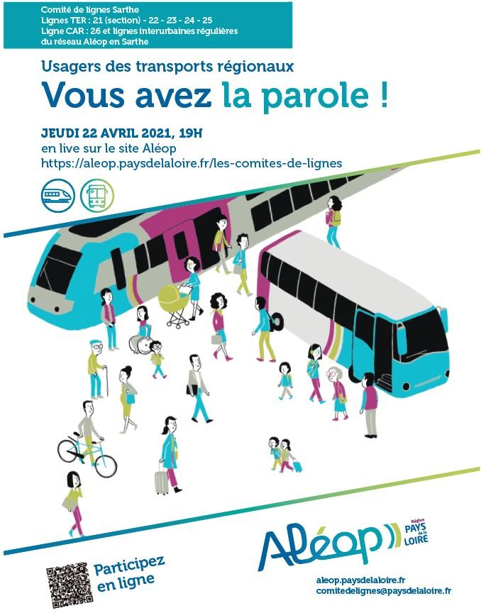 Réunion du Comité de lignes «Sarthe» ALEOP