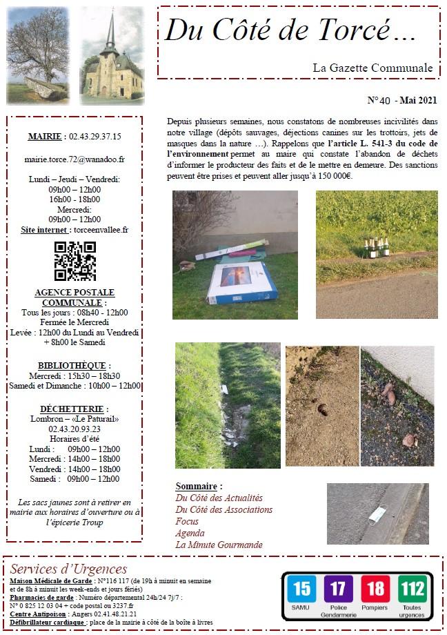 Bulletin municipal n°40